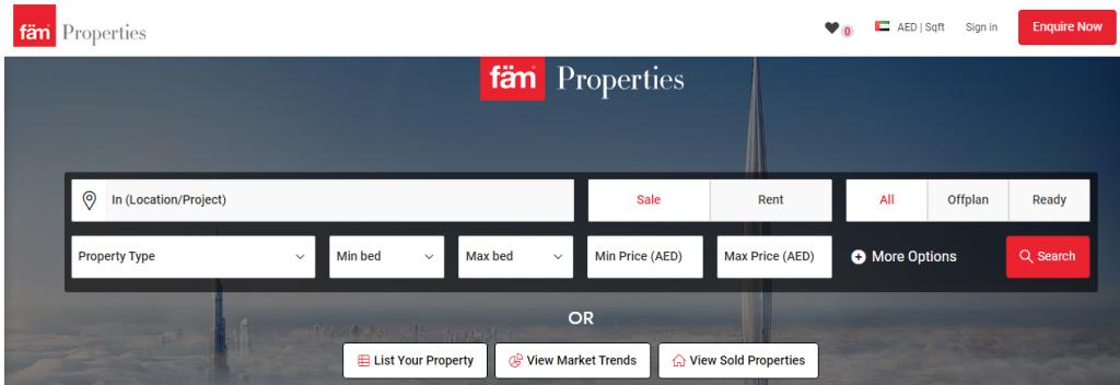 fäm Properties